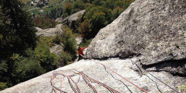 Mehrseillängen - alpines Klettern